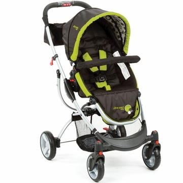 The First Years Indigo Stroller - Abstract Os Black & Green