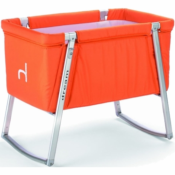 BabyHome Dream Baby Crib - Orange