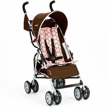 The First Years Jet Stroller - Spiro Brown / Pink