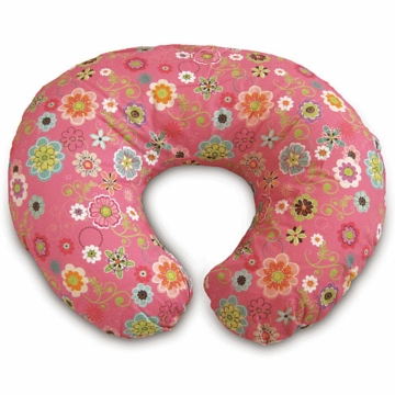 Boppy Pillow with Wildflowers Slip Cover