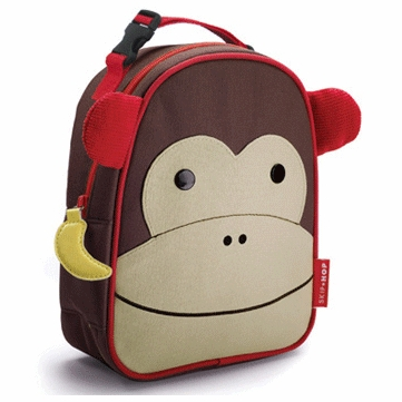 Skip Hop Lunchies Insulated Lunch Bag - Monkey