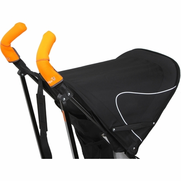 City Grips Stroller Double Handlebar Cover - Neon Orange