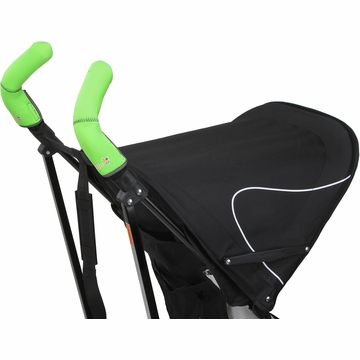 City Grips Stroller Double Handlebar Cover - Neon Green