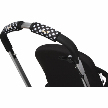 City Grips Stroller Single Handlebar Cover - Polka Dot