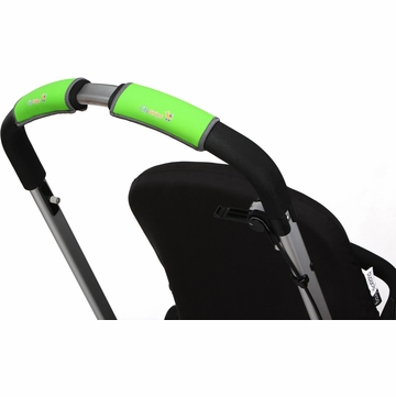 City Grips Stroller Single Handlebar Cover - Neon Green