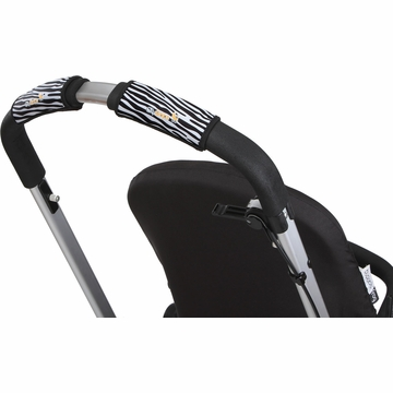 City Grips Stroller Single Handlebar Cover - Zebra