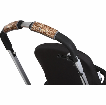 City Grips Stroller Single Handlebar Cover - Leopard Brown