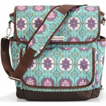 Timi & Leslie 2-in-1 Backpack Diaper Bag in Farah