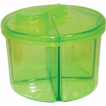 Sassy On-the-Go Formula Dispenser in Green