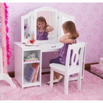 KidKraft Deluxe Vanity & Chair Set
