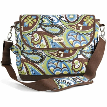 Timi & Leslie Messenger Diaper Bag in Felicity