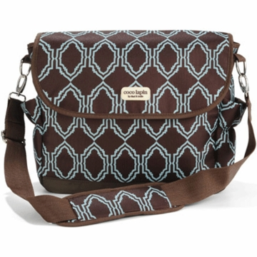 Timi & Leslie Messenger Diaper Bag in Sahara