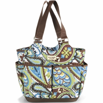 Timi & Leslie Tag-A-Long Tote Diaper Bag in Felicity