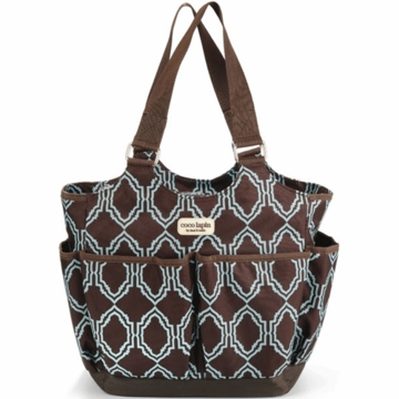 Timi & Leslie Tag-A-Long Tote Diaper Bag in Sahara