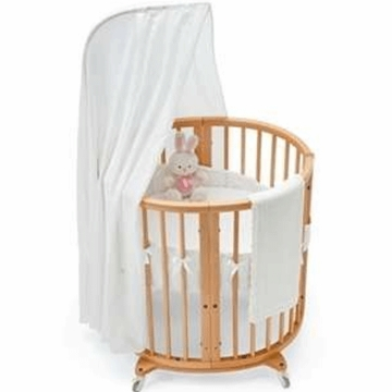 Stokke Sleepi Classic White 4 Piece Mini Crib Bedding Set