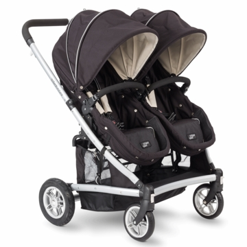 Valco Baby Spark Duo Stroller in Black Out