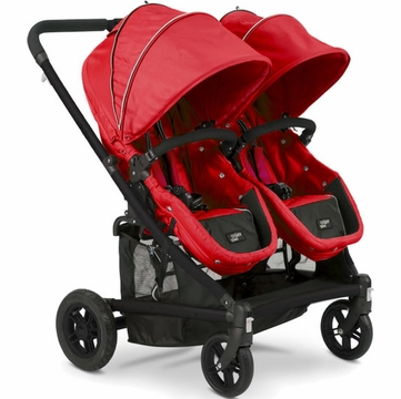 Valco Baby Spark Duo Stroller in Stawberry