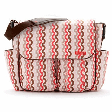 Skip Hop Dash Deluxe Edition Diaper Bag in Pink Links