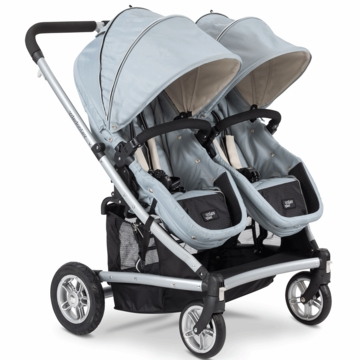Valco Baby Spark Duo Stroller in Sterling