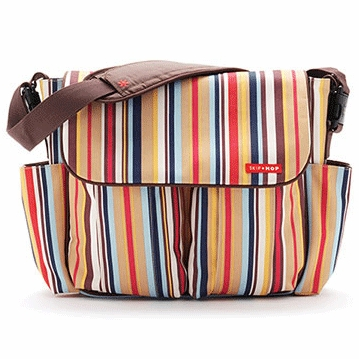 Skip Hop Dash Deluxe Edition Diaper Bag in Uptown Stripe