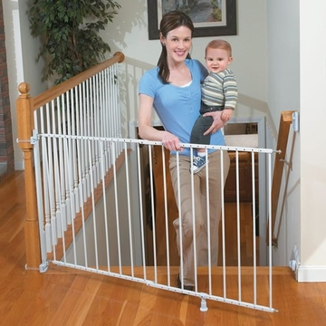 Summer Infant Sure & Secure Extra Tall Top of Stairs Gate with Banister Kit