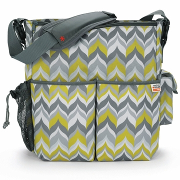 Skip Hop Duo Diaper Bag - Jonathan Adler - Flame Yellow