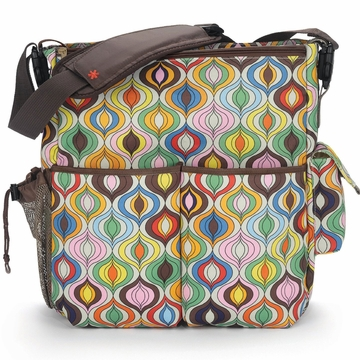 Skip Hop Duo Diaper Bag - Jonathan Adler - Wave Multi