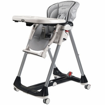 Peg Perego 2009 Prima Pappa Diner Best High Chair in Nuvola Grey
