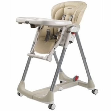 Peg Perego 2009 Prima Pappa Diner Best High Chair in Paloma Beige