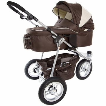 Valco Trimode Bassinet EX Hot Chocolate