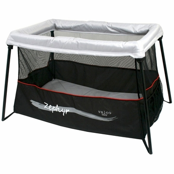 Valco Zephyr Portable Travel Crib - Storm