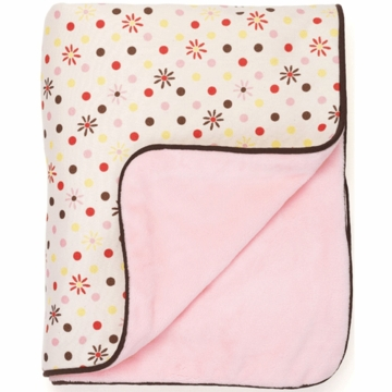 Skip Hop Flower Burst Cotton Blanket