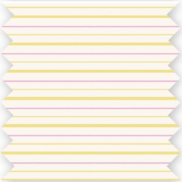 Skip Hop Flower Burst Fitted Crib Sheet in Pink/Yellow Stripe