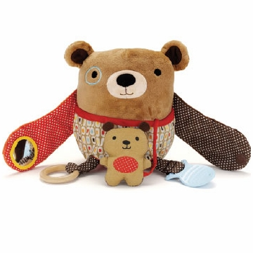 Skip Hop Hug & Hide Activity Toy - Bear