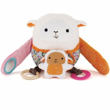Skip Hop Hug & Hide Activity Toy - Lamb