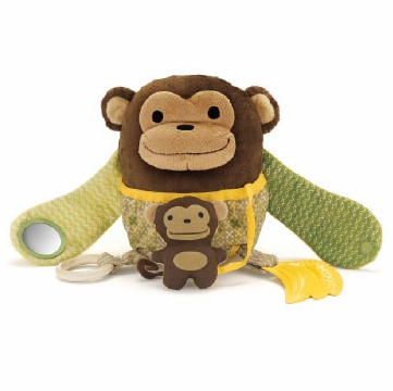 Skip Hop Hug & Hide Activity Toy - Monkey