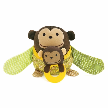 Skip Hop Hug & Hide Stroller Toy - Monkey