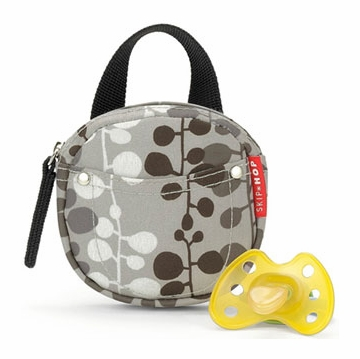 Skip Hop Pacifier Pocket in Willow