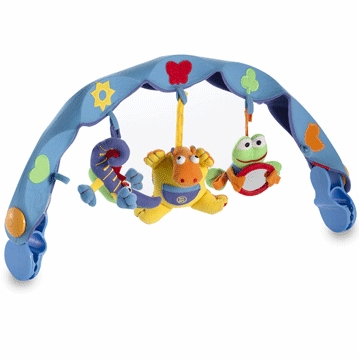 Tiny Love Musical Take-Along Arch Hippo Blue
