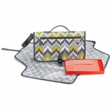 Skip Hop Pronto Changing Station - Jonathan Adler - Flame Yellow