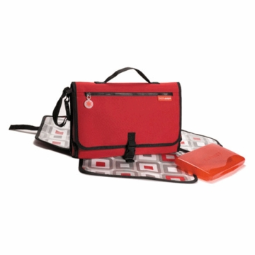 Skip Hop Pronto Changing Wallet in Red