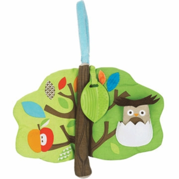 Skip Hop Treetop Friends Soft Activity Book