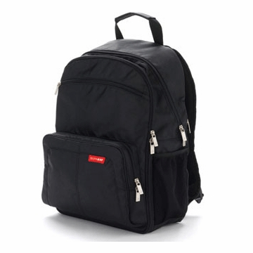 Skip Hop Via Backpack in Black