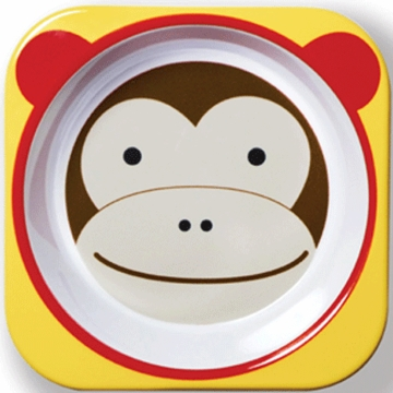 Skip Hop Zoo Tableware Bowl in Monkey