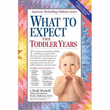 What to Expect The Toddler Years, 2nd edition by Heidi Murkoff
