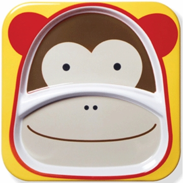 Skip Hop Zoo Tableware Plate in Monkey