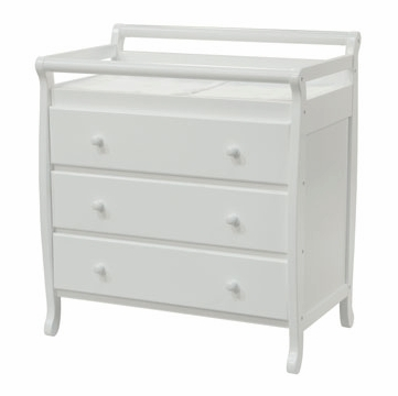DaVinci Emily Three Drawer Changing Table in White