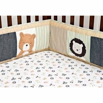 KidsLine Bear and Buddies Fitted Sheet