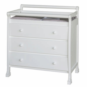 DaVinci Kalani Three Drawer Changer in White