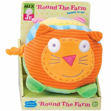 Alex Round the Farm Baby Toy